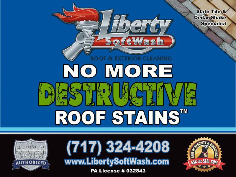 Liberty SoftWash  Sign