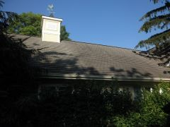 black streaks on roof - kleen Roofs