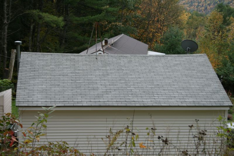 Garage roof