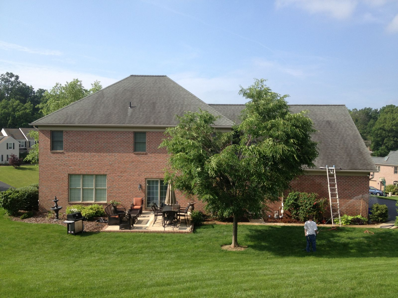 Roof Cleaning (Non Pressure) IN PA and MD
