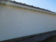 Siding after Non pressure cleaning