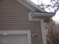 Siding cleaned by Kleen