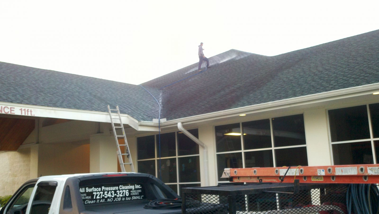 Roof Cleaning & Pressure Washing by All Surface 727-543-3276