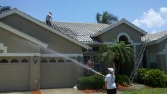 Tile Roof Cleaning Palm Harbor Florida! 727-543-3276