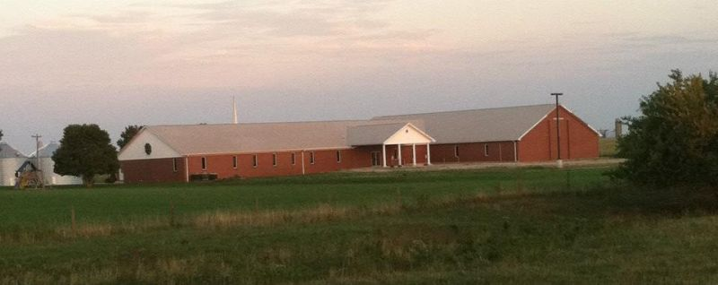 Buck Grove Community Church After Roof Cleaning-Mattoon, Illinois