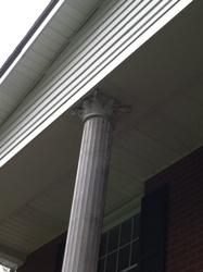 Pillar before
