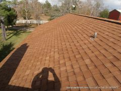 after roof cleaning houston texas