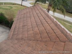 before tile roof cleaning houston Tx