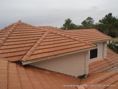 after tile roof cleaning houston