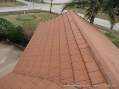 after tile roof clean houston Tx