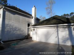 before roof cleaning magmolia