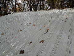 metal roof cleaned By Kleen Llc