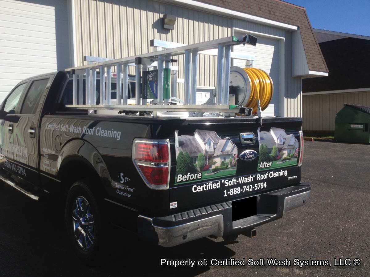 Certified Soft Wash Systems Llc Spray Skid General Discussion The Roof Cleaning