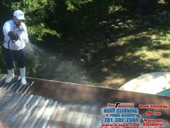 09 06 16 Tile Roof Cleaning