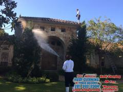 10 10 16 Tile Roof Cleaning