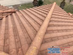 01 09 17 Tile Roof Cleaning