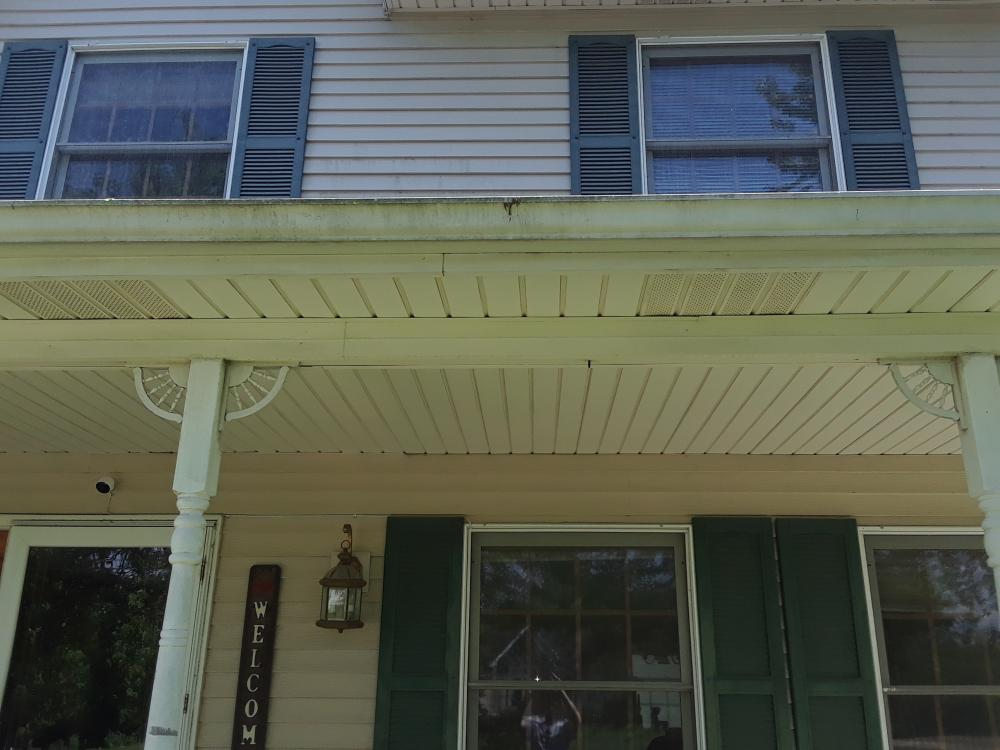 Oxide On Aluminum Siding Softwash Systems For Roof And